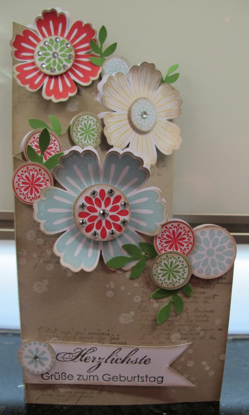 Mixed Bunch Geburtstagskarte