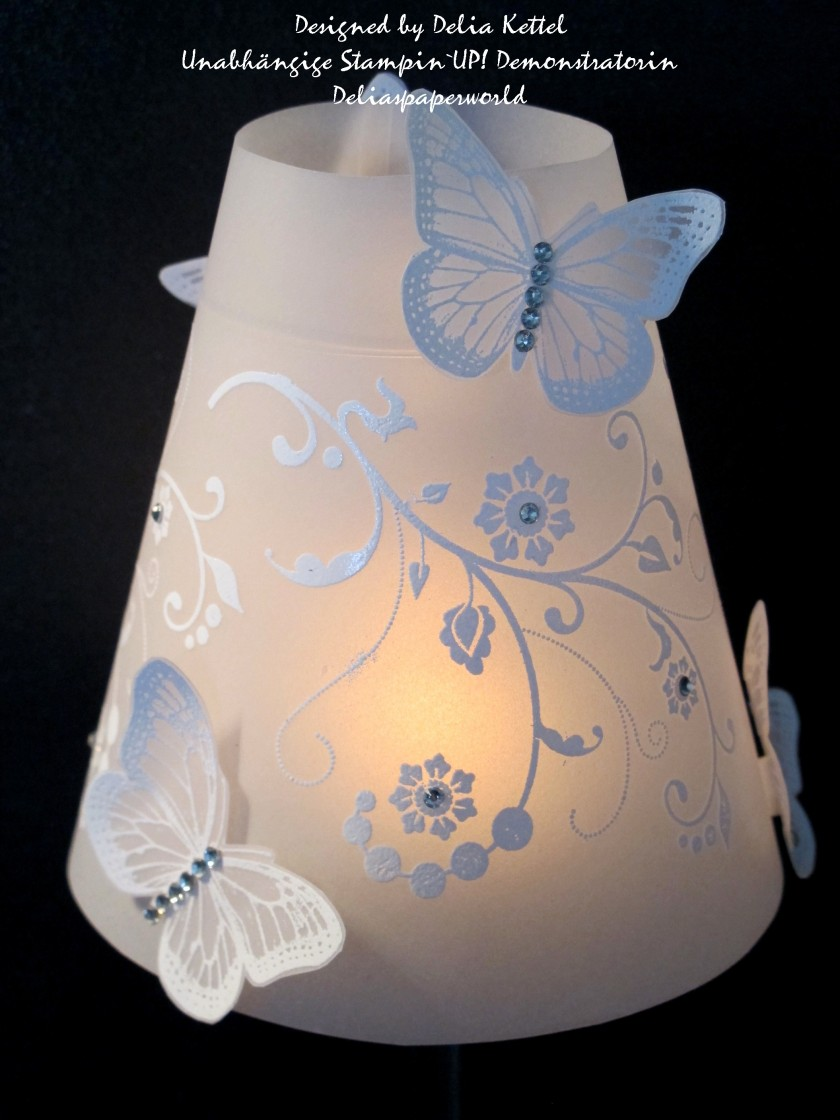 Lampenschirm Schmetterlinge 2