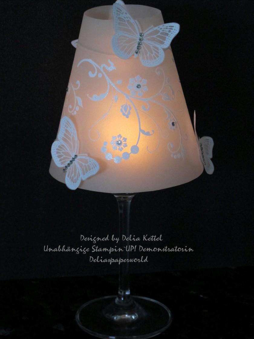 Lampenschirm Schmetterlinge