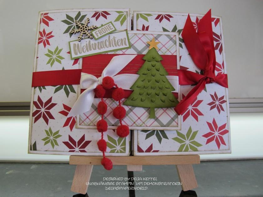 Mini Album Weihnachten Delia Kettel 1